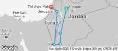 Jordan & Israel - 6 destinations