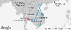 Exploring Vietnam & Cambodia - 7 destinations