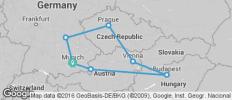Prague, Vienna & Budapest - 7 destinations