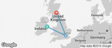 Dublin, London & Edinburgh - 3 destinations