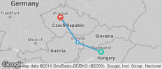 3 Nights Budapest, 3 Nights Vienna & 3 Nights Prague - 3 destinations