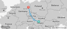 Budapest, Vienna, Prague & Berlin - 4 destinations