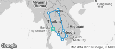 40 days in Laos, Thailand, Cambodia - The Ultimate Journey - 11 destinations