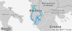 Cycling in Albania - 15 destinations