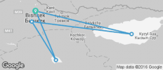 Bishkek To Bishkek (15 Days) Kyrgyzstan Overland - 5 destinations