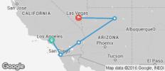 LA to Vegas Adventure - 5 destinations
