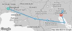 Biking Bangkok to Angkor Wat - 8 destinations