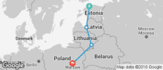 Baltic Capitals (from Tallinn to Warsaw) - 4 destinations