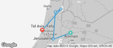 Journey Through Israel & the Palestinian Territories - 5 destinations