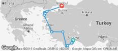 Glimpse of Turkey - 15 destinations