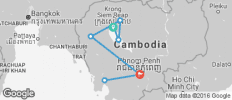 Bike, Hike and Kayak Cambodia - 8 destinations