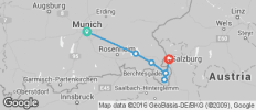 Munich to Salzburg Cycle - 6 destinations