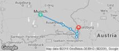 Munich to Salzburg Cycle - 6 destinations