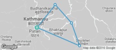 Around Kathmandu Trek - 5 destinations