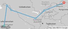 Ashgabat To Bishkek (20 Days) Silk Road Highlights - 6 destinations