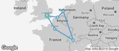 Europe Christmas Taster - 7 Days - 6 destinations