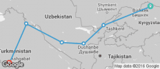 Bishkek To Ashgabat (20 Days) Silk Road Highlights - 6 destinations