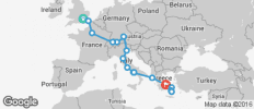 Road to Athens plus 11 Day Greek Island Hopping - 18 destinations