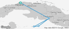Cuba Sailing Adventure - 6 destinations