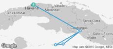 Cuba Sailing Adventure - 6 destinations
