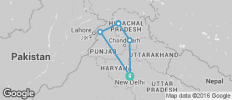 Northern India by Rail - 6 destinations