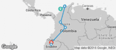 Cartagena to Quito on a Shoestring - 11 destinations