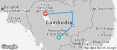 Cambodia - Hike, Bike & Kayak - 6 destinations