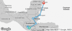 Mayan Sun–Northbound - 10 destinations