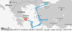Greeks and Turks Ways (from Istanbul) - 16 destinations
