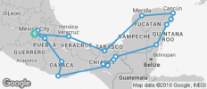 Complete Mexico Ways (from Mexico City) - 19 destinations