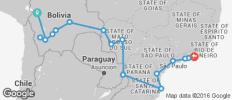 Cute Caiman Ways (from La Paz) - 18 destinations