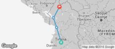 Biking through national parks of Razem and Theth - 4 destinations