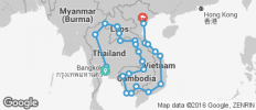 Lot Pass (Thailand, Laos, Cambodia, Vietnam) - 25 destinations