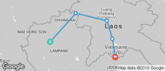 Little Laos Pass (Northern Thailand and Laos) - 5 destinations