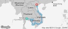 Moc Bai Pass (Thailand, Cambodia, Vietnam) - 13 destinations