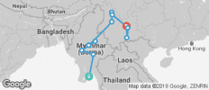 Myanmar and Yunnan Explorer  - 13 destinations