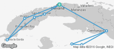 Cuba Libre & Sailing - 11 destinations