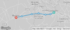 Spain – El Camino STAGE 2 Logroño to Burgos - 7 destinations
