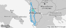 Discover Albania tour - 14 destinations