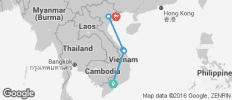 Classic Vietnam - Saigon to Hanoi 8 Days - 6 destinations