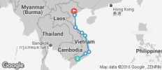 Dong Flexi Tour (Vietnam Northbound) - 8 destinations