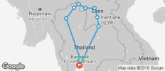 Tom Yum Flexi Tour (Thailand, Laos) - 9 destinations