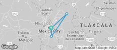 3 day tour Mexico City: Guadalupe Shrine, Teotihuacán & Tlatelolco + Xochimilco + City Tour - 4 destinations