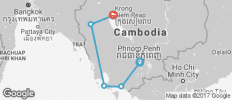 Cambodia Adventure (5 destinations) - 5 destinations