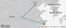 Beijing, Xian & Shanghai Air-Expedition 10D/9N - 5 destinations