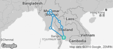 Thailand and Myanmar Ways (from Bangkok) - 8 destinations