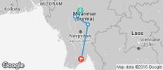 Myanmar Ways (from Mandalay) - 4 destinations