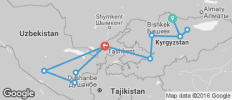 Central Asia Explorer - 11 destinations