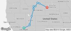 Western Frontiers end Rapid City Western Frontiers end Rapid City - 11 destinations