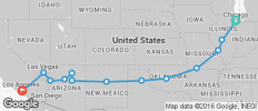 Route 66 - 13 destinations
